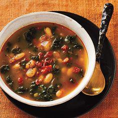 White Bean Soup with Kale and Chorizo Recipes
