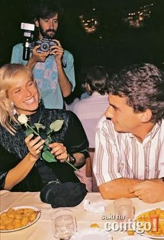 Ayrton Senna Forever: Photos Ayrton Senna and girlfriend