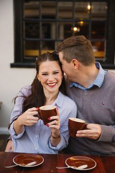 Coffee date & walking the streets of Stellenbosch. #engagementshootideas #coupleshootcoffee #stellenbosch #autumncouple #fallcoupleshoot Coffee Shop Photography, Travel Photography, Engagement Pictures, Engagement Session, Romantic Couples, Romantic Ideas, Couple Photography Poses, Pre Wedding Photoshoot, Love Photos