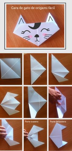 Everybody knows about origami, the Japanese art of paper folding. But what is it that can make origami so magical, … Origami Yoda, Gato Origami, Instruções Origami, Origami Star Box, Origami Dragon, Origami Fish, Useful Origami, Origami Stars, Origami Flowers