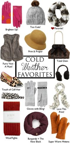 Cold Weather Favorites!