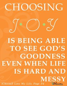 Joy is not happiness. You can achieve joy without being happy. I need all the joy I can get in this hard and messy life! Joy Quotes, Great Quotes, Quotes To Live By, Inspirational Quotes, Happiness Quotes, Quotes About Joy, Gospel Quotes, Funny Quotes, Wife Quotes