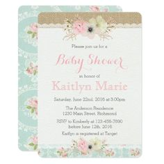 Lily baby shower invitation floral baby shower baby shower lily baby shower invitation floral baby shower baby shower invitations pinterest shower invitations and baby shower themes filmwisefo
