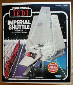 Kenner return of the jedi imperial shuttle vehicle Star Wars Toys, Star Wars Art, Retro Toys, Vintage Toys, Jouet Star Wars, Nave Star Wars, Star Wars Vehicles, Star Wars Merchandise, Star Wars Action Figures