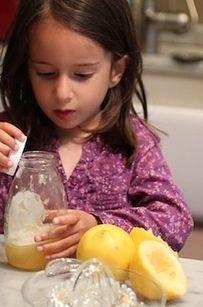 """Make """"Bottom of the Honey Jar"""" Lemonade…"""