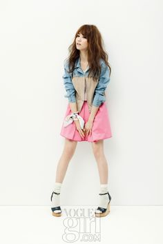 Vogue Girl Korea's 2012 Pink Wings Campaign