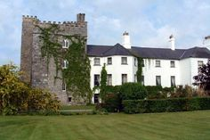 Barberstown Castle in Ireland - our venue for the wedding reception!