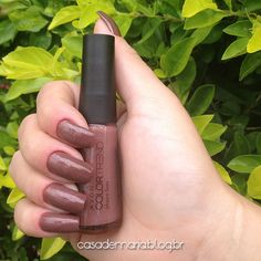 Esmalte Avon Color Trend Choco Luxo www.blogcasademaria.com.br