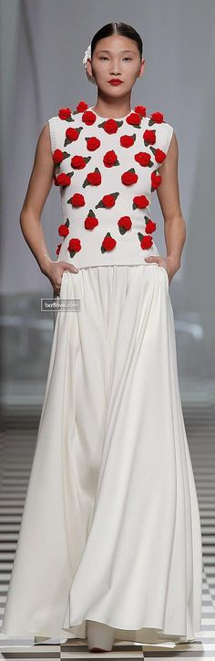 Just in case I'm craving strawberries later.  David Delfin FW 2013