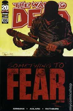 The Walking Dead # 100 1st PTG * NM * DEATH OF GLENN ! 1st NEGAN Something To…