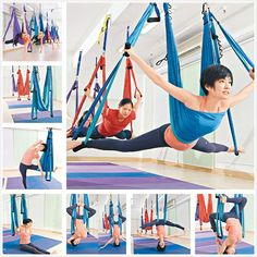 Trapeze Anti-Gravity Aerial Traction Yoga