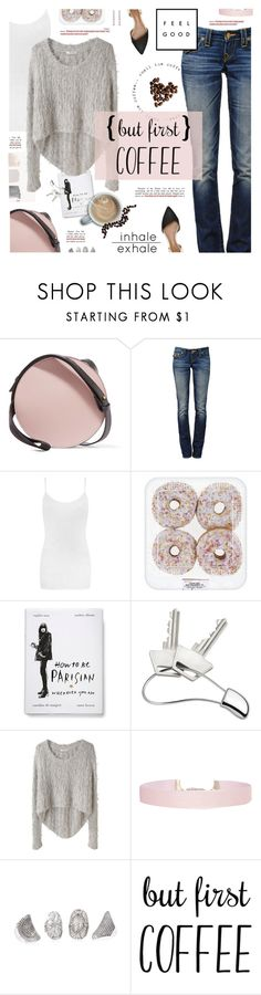 """Coffee Break"" by happilyjynxed ❤ liked on Polyvore featuring Marni, True Religion, WearAll, United by Blue, Georg Jensen, Helmut Lang, Humble Chic, Gucci, casual and Pink"