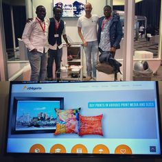 Nice talk with the great @ArtNigeria Team the Moo.com for Nigerian artists. Already 5K US$ sales in 15 days with no marketing. #Johannesburg #Joburg #Nigeria #NigerianEntepreneurs