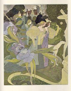 Les Jardins d'Armide by Georges de Feure.