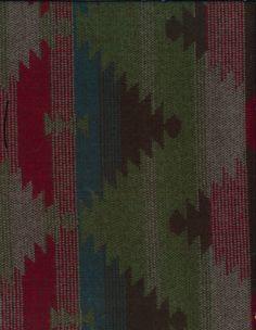 Autumn Equinox- Aztek Jacquard Blue Acrylic Fabric, , hi-res