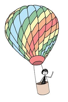 Die 27 Besten Bilder Von Heissluftballon Drawings Hot Air Balloons