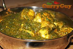 Chicken Saagwala - Chicken Saag Recipe by The Curry Guy
