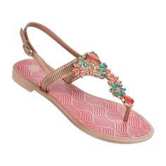 Grendha - Coleção Refinatta heelstrap pink