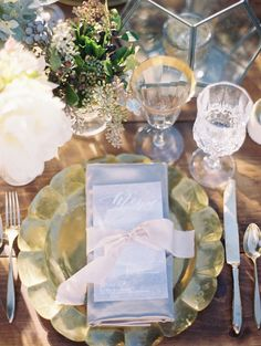 Wedding reception decor idea; Featured photographer: Bryan N. Miller Photography