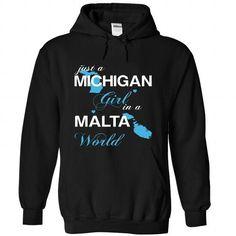 WorldBlue Michigan-Malta Girl - #camo hoodie #sweater for teens. GET IT => https://www.sunfrog.com//WorldBlue-Michigan-Malta-Girl-5303-Black-Hoodie.html?68278