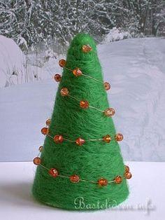 Nadelfilzen - Weihnachtsbaum