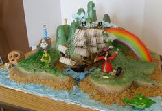 peter pan cake | Peter Pan Neverland 2 | Flickr - Photo Sharing!