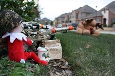 Things he once loved turned into things he hated. | 21 Photos The Elf On The Shelf Doesn't Want You To See