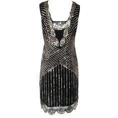 Luxury Brand 1920s Vintage Gatsby Art Deco Printed Sequin Embellished Elegant Vestidoes Fringed Hem Cocktail Flapper Dress Women