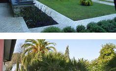 Giardino privato in Versilia: prima e dopo il mio intervento.