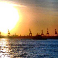 O dourado é o negro. #sunset #oil #abussolaquebrada #ilovephoto #riodejaneiro #Brasil #brazil