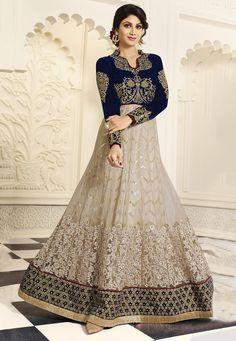 Online Shopping from wide range of Indian Salwar Kameez, Designer Salwar Kameez, Anarkali Suits, Bollywood Salwar Kameez at SilkMuseum. Shop from exclusive range of Salwar Kameez designs and Latest Salwar Kameez Stock at cheap prices and get express shipp Bollywood Outfits, Pakistani Outfits, Indian Outfits, Indian Attire, Anarkali Suits Online Shopping, Indian Clothes Online, Indian Salwar Kameez, Salwar Suits, Punjabi Suits