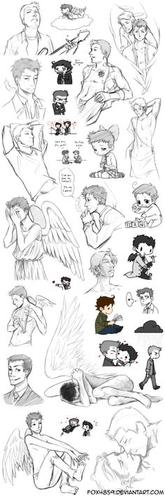 Supernatural collage 10 by DeanGrayson