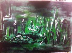 Hanadi 7 years old Syrian sniper burrial 7 Year Olds, Painting, Art, Art Background, Painting Art, Paintings, Kunst, Drawings, Art Education