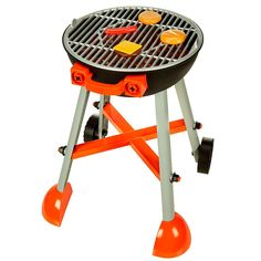 "It's the Black & Decker Junior BBQ Grill! Your little one will love to as food ""sizzles"" while they pretend to cook. It comes with over 40 pieces including a fabric apron just like when Dad barbecues. Start grilling today!"