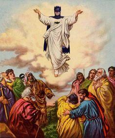jesus is an echolocator.