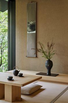 Modern Japanese Interior, Japanese Interior Design, Japanese Home Decor, Japanese House, Japanese Living Room Decor, Japanese Decoration, Living Room Zen Style, Zen Living Rooms, Japan Design