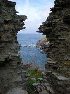 Tintagel Castle Ruins   Cornwall, England by iris-flower