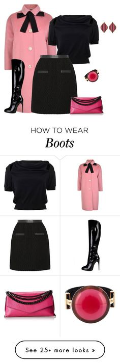 """""""outfit 3342"""" by natalyag on Polyvore featuring Gucci, Alexander McQueen, Jason Wu, Milly, Marni, Fornash, women's clothing, women, female and woman"""