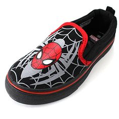 Spider-Man Boys Black Canvas Sneakers Shoes (9 M US Toddler) Marvel http://www.amazon.com/dp/B00TPTVRPY/ref=cm_sw_r_pi_dp_Mx2-vb19X5HZ3