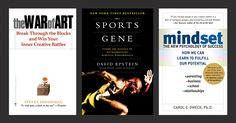 Book covers from Dan Pink's suggested reading.