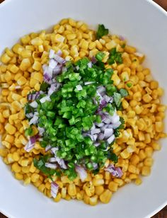 corn salsa (chipotle)