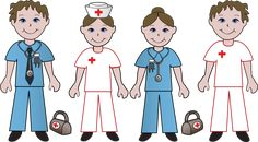 Learn All About Doctor's Day: Clip Art Of Doctors and Nurses