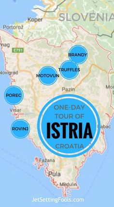 One-Day Tour of Istria, Croatia