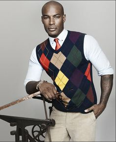 argyle-sweater-vest-solid-necktie                                                                                                                                                                                 More