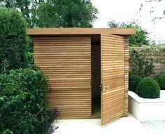 Amazing Shed Plans - Les solutions de stockage treillis de jardin - Now You Can Build ANY Shed In A Weekend Even If You've Zero Woodworking Experience! Start building amazing sheds the easier way with a collection of shed plans! Small Outdoor Shed, Outdoor Garden Sheds, Backyard Storage Sheds, Backyard Sheds, Shed Storage, Bike Storage, Small Garden Storage Ideas, Modern Outdoor Storage, Small Storage