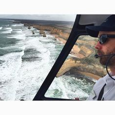 Nice view from the top! My friend Judd is quite serious in flying us.. Yeh we need him to be serious on this.. it's my first time to be in a flying helicopter haha lovely 25 mins up there!  #12apostleshelicopters #12apostles #australia #igersaustralia #igers #igmasters #ig_captures #ig_great_pics #nature #naturelovers #travel #traveller #travelgram #instatravel #livetotravel #wanderlust #wanderer #escapade #adventure #explorer #tourist #tourism #touristspot #live #love #life by conz6th…
