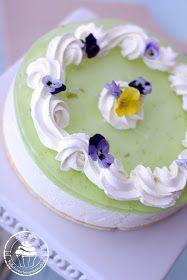 Pullahiiren leivontanurkka: Lime-hyydykekakku - Caipirinha-juustokakku