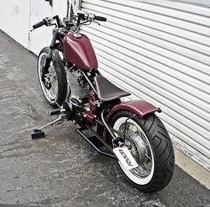 Bobber Inspiration | Bobbers & Custom Motorcycles | Ryca Motors RR-1 Suzuki s40 bobber