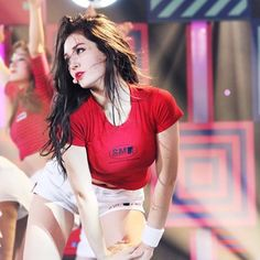 Tongue, straw and other stuff Jeon Somi, South Korean Girls, Korean Girl Groups, Choi Yoojung, Kim Sejeong, Cute Girl Outfits, Korean Singer, Kpop Girls, Asian Beauty