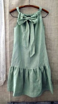 Fashion Sewing, Diy Fashion, Fashion Outfits, Style Fashion, Dress Sewing Patterns, Diy Clothing, Sewing Clothes, Diy Dress, Little Girl Dresses